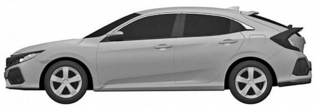 Honda Civic Hatchback patent 3