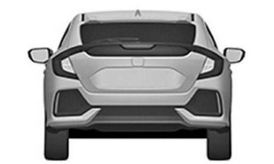 Honda Civic Hatchback patent 5