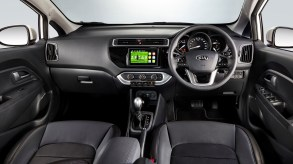 Kia Rio Sedan X Interior