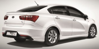 Kia Rio Sedan X rear