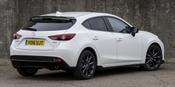 Mazda 3 Sport Black Edition UK 3