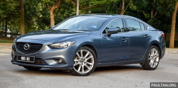 Mazda 6 SkyActiv-D 2.2 review 3