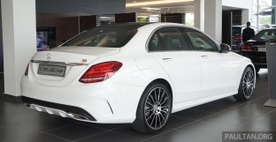 W205 Mercedes-Benz C300 AMG Line Malaysia 086