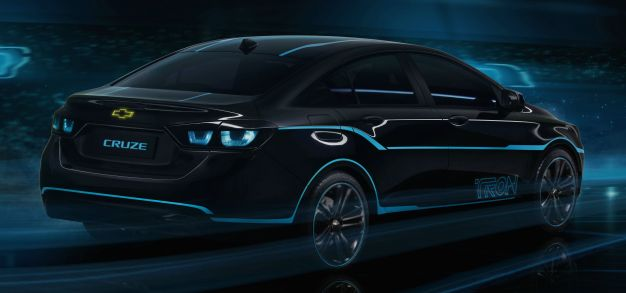 Chevrolet Cruze Show Car Inspired by Disney Film TRON: Legacy