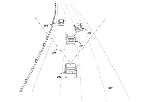 Google turn signal detection patent