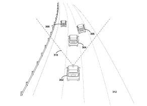 Google turn signal detection patent