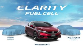 Honda Clarity series teaser