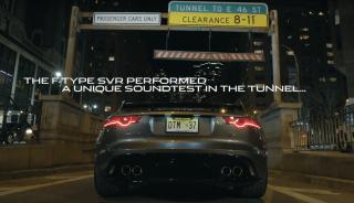 Jaguar F-Type SVR sound test screenshot-01