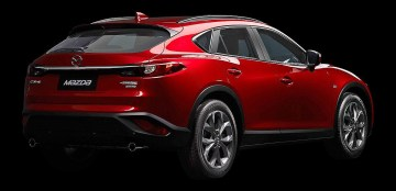 Mazda CX-4 China official 2