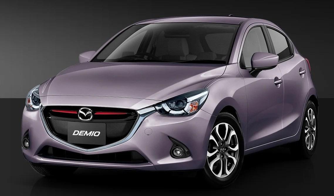 Mazda 2 colours