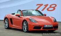 Porsche 718 Boxster S Review 7