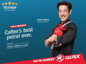 Caltex Techron Clean and Glide