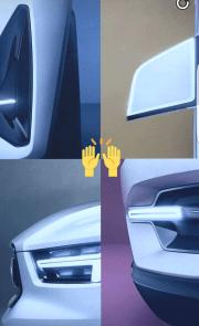 Volvo XC40 concept Snapchat 2