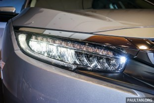 Civic headlight