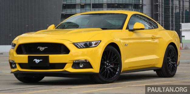Ford Mustang   Gt V