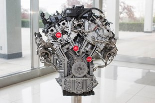 3.5 liter EcoBoost engine