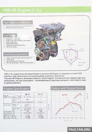 Perodua Bezza engines 17