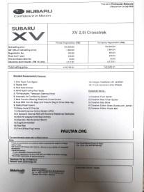 Subaru-XV-Crosstrek-price