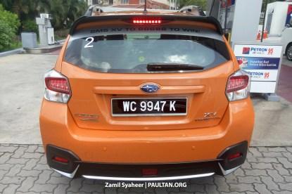 Subaru XV Crosstrek spyshots 7
