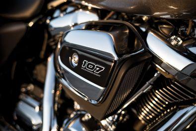 2017 Harley Davidson Milwaukee Eight engine