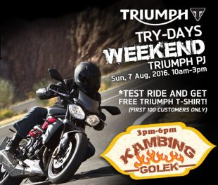 Triumph Try-Days kambinggolek