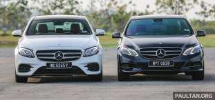 GALLERY: Mercedes-Benz E-Class – W213 vs W212