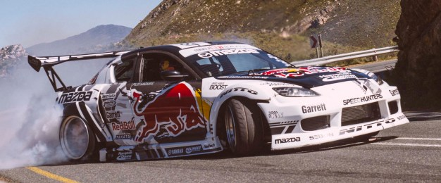 Mike Whiddett performs on Franschhoek Pass, Cape Town, South Africa, on September 19, 2016 // Tyrone Bradley/Red Bull Content Pool // P-20161003-00453 // Usage for editorial use only // Please go to www.redbullcontentpool.com for further information. //