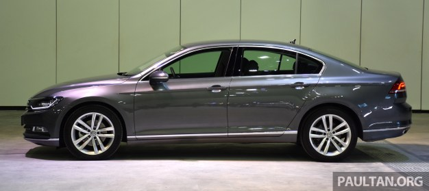 B8 Volkswagen Passat officially launched in Malaysia - three