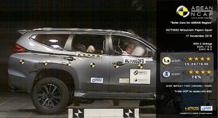 Mitsubishi Pajero Sport ASEAN NCAP