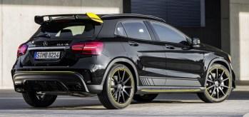 Mercedes-Benz AMG GLA 45 4MATIC Yellow Night Edition, X156 (2017