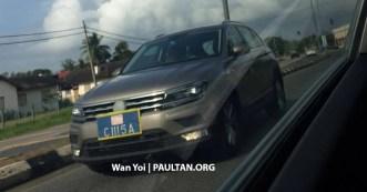 Volkswagen Tiguan CKD spy 1