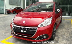 2017 Peugeot 208 GTI Malaysia spied 2