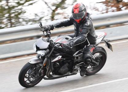 2017 Triumph Street Triple 765 RS media ride - 10