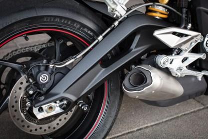 2017 Triumph Street Triple 765 RS media ride Detail - 27