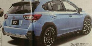 2018 Subaru XV Leaked-02