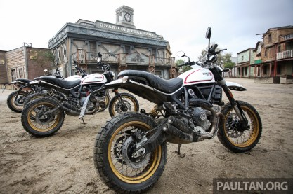 Ducati Scrambler Desert Sled on site BM-11