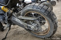Ducati Scrambler Desert Sled on site BM-25
