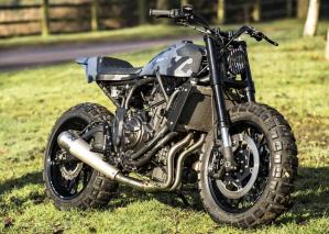 2017 Rough Crafts Yamaha XSR700 custom - 20