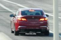 2018 Acura TLX spyshots 12