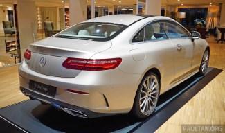 C238 Mercedes-Benz E-Class Coupe 10