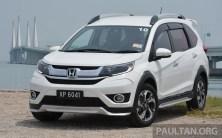 Honda BR-V Malaysia Drive 1