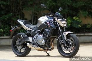 Ride impression: 2017 Kawasaki Ninja 650 and Z650