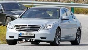 Mercedes S facelift 2