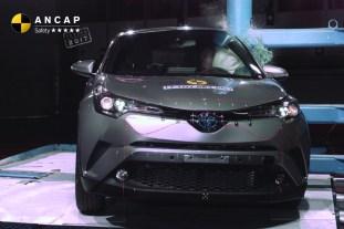Toyota C-HR ANCAP 3