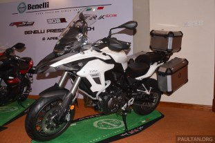 2017 Benelli TRK 502 and 302R Penang launch --1