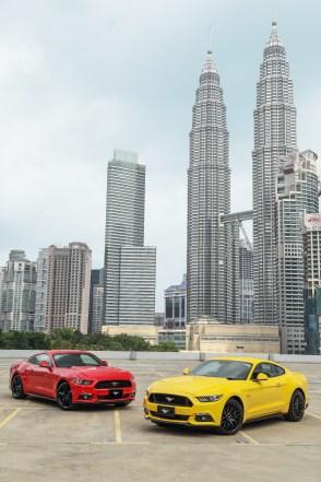 Mustangs Around the World - Malaysia