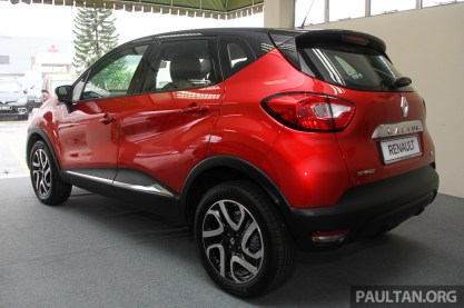 renault captur ckd cheaper now rm109k. Black Bedroom Furniture Sets. Home Design Ideas