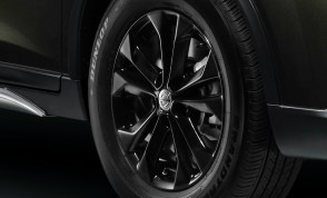 08_New Nissan X-Trail Aero Edition_Gloss Black 5-Spoke 17-inch Alloy Wheel