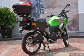 2017 Kawasaki Versys X-250 Givi -5