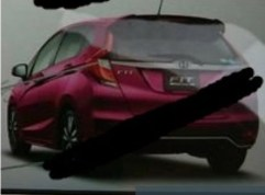 Honda Jazz facelift leaked Japan 8